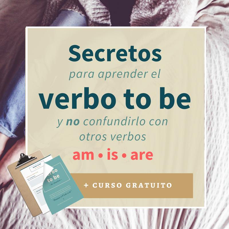 secretos para aprender el verbo to be en ingles